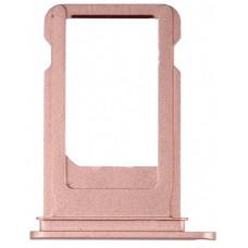 Лоток сим (SIM) карты iPhone 7 розовый