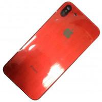 Корпус iPhone 7 как iPhone X Product RED (красное стекло)
