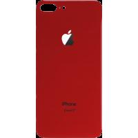 Стекло корпуса заднее iPhone 8 Plus (красное)