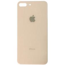 Заднее стекло корпуса iPhone 8 Plus (розовое золото)
