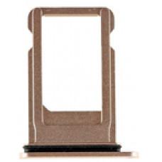 Лоток сим (SIM) карты iPhone 8 Plus золотой