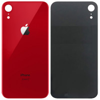 Стекло корпуса заднее iPhone 8 (красное)