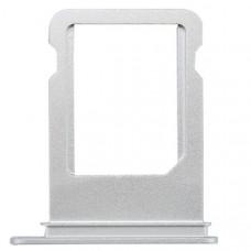 Лоток сим (SIM) карты iPhone 8 белый