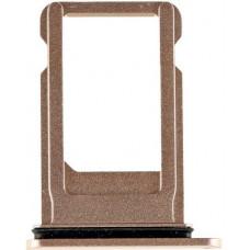 Лоток сим (SIM) карты iPhone 8 золотой