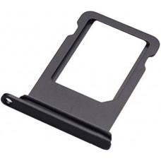 Лоток сим (SIM) карты iPhone 8 черный