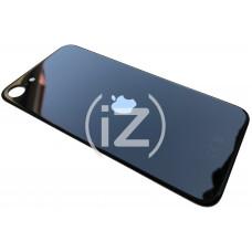 Стекло корпуса заднее iPhone SE 2020 (черное) с CE увеличенное