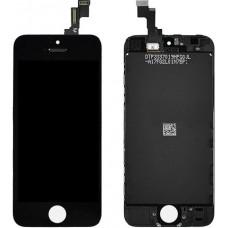 Дисплей iPhone 5S/SE черный (модуль, в сборе, ORIG REF)