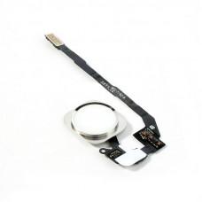 Кнопка HOME iPhone 5S/SE белая (серебро)