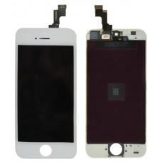 Дисплей iPhone 5S/SE белый (модуль, в сборе, ORIG REF)