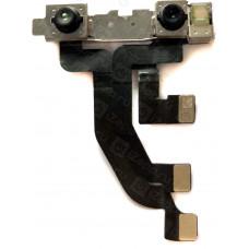 Шлейф верхний iPhone X с фронтальной и инфракрасной камерами