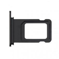 Лоток сим (SIM) карты iPhone XR черный