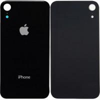 Стекло корпуса заднее iPhone XR (черный)