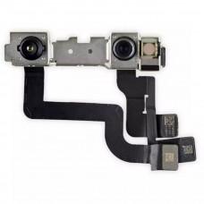 Шлейф верхний iPhone XR с фронтальной и инфракрасной камерами
