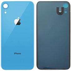 Стекло корпуса заднее iPhone XR (синий)