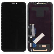 Дисплей iPhone XR черный (AAA)