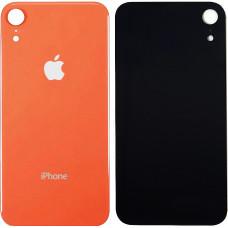 Стекло корпуса заднее iPhone XR (коралловый)