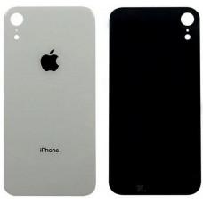 Стекло корпуса заднее iPhone XR (белый)