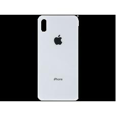 Стекло корпуса заднее iPhone XS (белое)