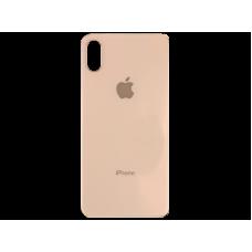 Стекло корпуса заднее iPhone XS (золотое)