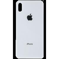 Стекло корпуса заднее iPhone X (белое)