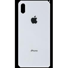 Заднее стекло корпуса iPhone X/XS (белое)