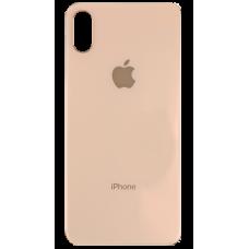 Стекло корпуса заднее iPhone X (золотое)