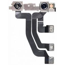 Шлейф верхний iPhone XS Max с фронтальной и инфракрасной камерами