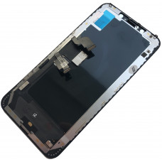 Дисплей iPhone XS MAX черный (OLED, HEX)