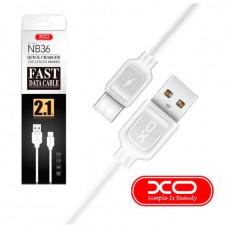 USB кабель XO NB36 Type-C to USB (2.1A)