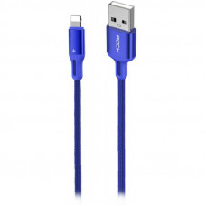 Кабель ROCK R2 RCB0730 Lightning to USB синий