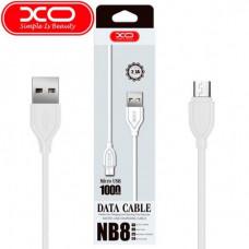 USB кабель XO NB8 Quick Charge Micro USB