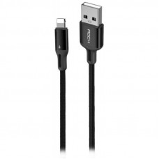 Кабель ROCK R2 RCB0730 Lightning to USB черный
