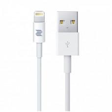 Кабель Rock Space S06 RCB0518 Lighning to USB 1м белый