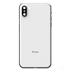 Корпус iPhone 6 в стиле iPhone X (белое стекло)
