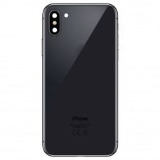 Корпус iPhone 6S в стиле iPhone X (черное стекло)