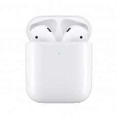 Наушники Apple AirPods 2 с беспроводной зарядкой