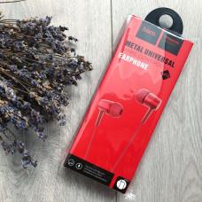 Наушники с микрофоном HOCO M10 красные