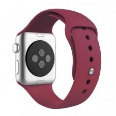 Ремешок Apple Watch 42мм/44мм малиновый силикон