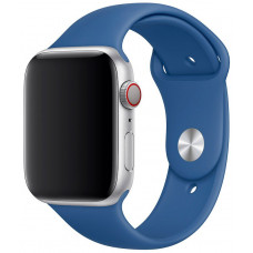 Ремешок Apple Watch 42мм/44мм синий силикон