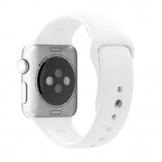 Ремешок Apple Watch 38мм/40мм белый силикон