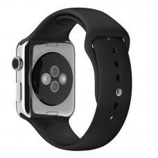 Ремешок Apple Watch 38мм/40мм черный силикон