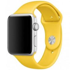 Ремешок Apple Watch 38мм/40мм желтый силикон