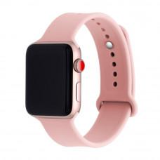 Ремешок Apple Watch 38мм/40мм розовый силикон
