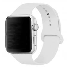 Ремешок Apple Watch 42мм/44мм белый силикон
