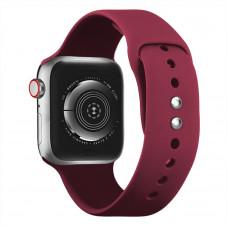 Ремешок Apple Watch 38мм/40мм малиновый силикон