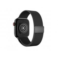 Ремешок Apple Watch 38мм/40мм темно-синий миланская петля