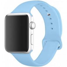 Ремешок Apple Watch 38мм/40мм голубой силикон