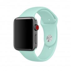Ремешок Apple Watch 42мм/44мм зеленая лагуна силикон