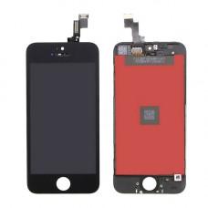 Дисплей iPhone 5 SE черный (модуль, в сборе, OEM)