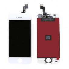 Дисплей iPhone 5 SE белый (модуль, в сборе, OEM)